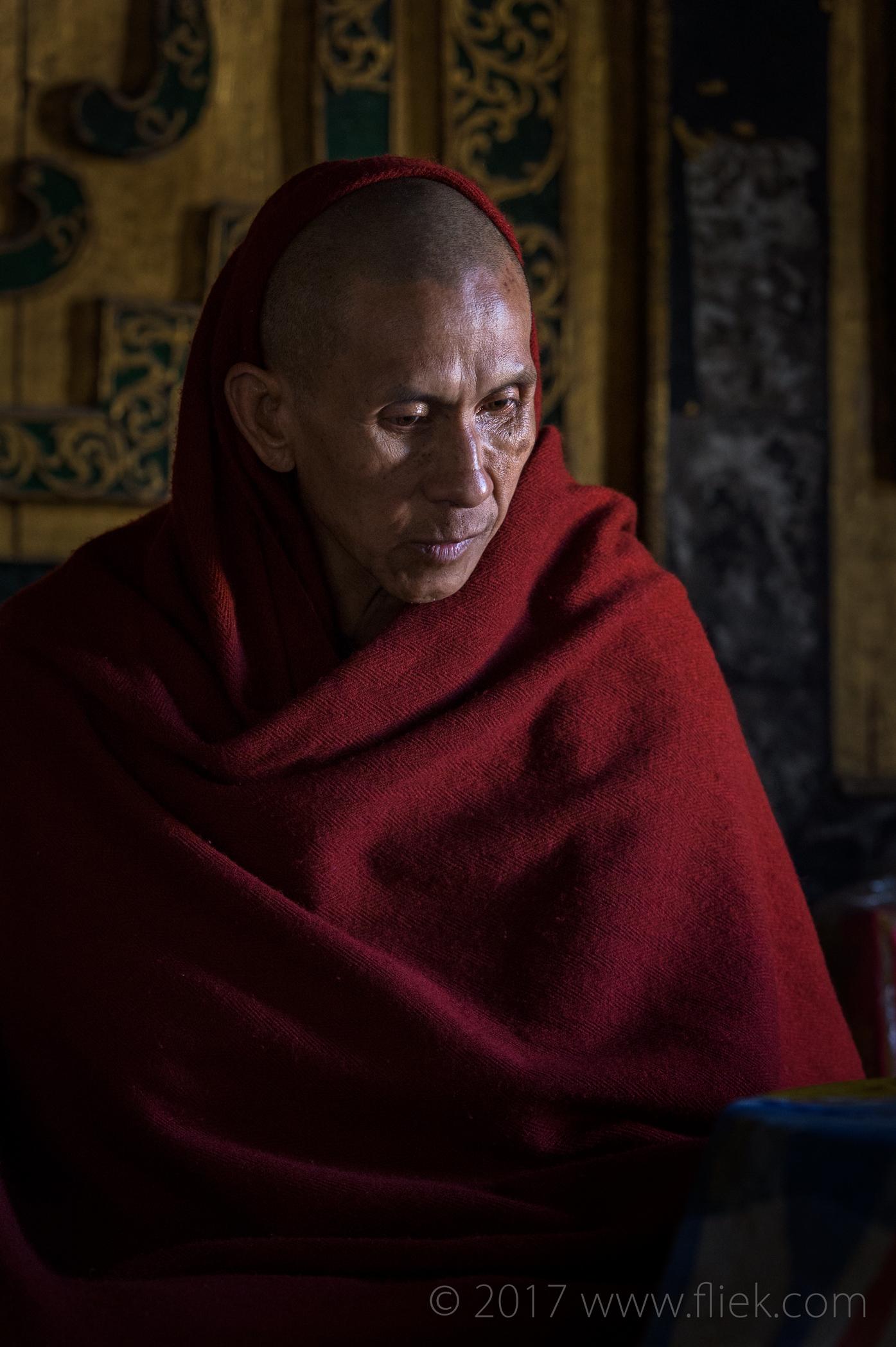 Magical mysterious Myanmar... Head Monk (Shwe Yaunghwe Kyaung Monastery)